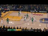 NBA LIVE 19 PS4 PRO - Boston Celtics vs Golden State Warriors - ESPN Cam Oracle Arena Full Game - HD