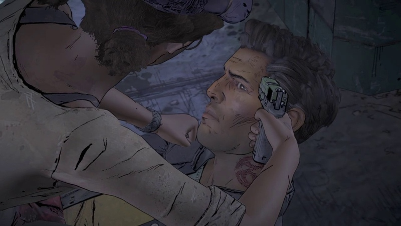 CLEMENTINE CURSES JAVI | THE WALKING DEAD A NEW FRONTIER