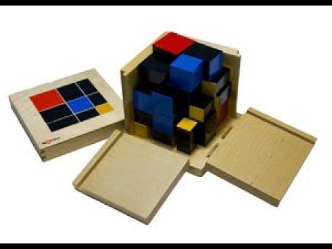 Монтессори-материал «Триноминальный куб» (№9, МИМП)