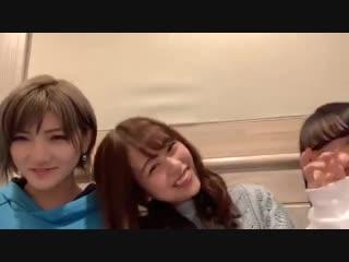 AKB48 Okada Nana / Shinozaki Ayana / Mukaichi Mion (SHOWROOM 2019.01.08)