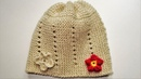 Pletena kapa (How to Knit a Hat)