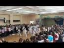 Выступление нашей секции по тхэквондо на День здоровья в школе