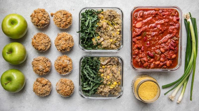Easy Vegan Meal Prep || Healthy Delicious