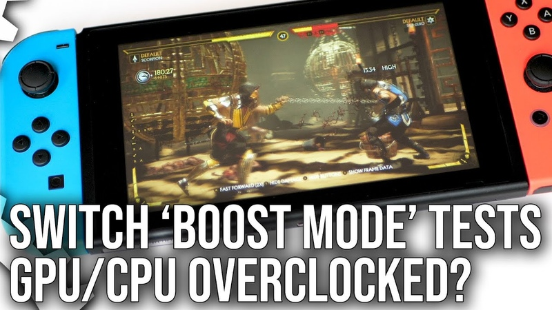 Switch 'Boost Mode' Analysis: Is Nintendo Overclocking Switch Hardware?