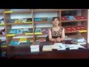 Қармақшы ауданының кітапханасының оқырманы Өмірбекова Айжан жастарды кітап оқуға шақырады