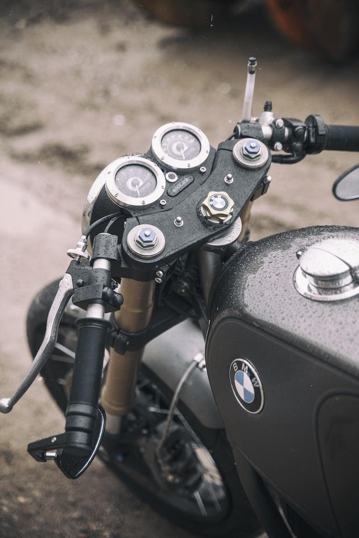UFO Garage: кафе рейсер BMW R100R