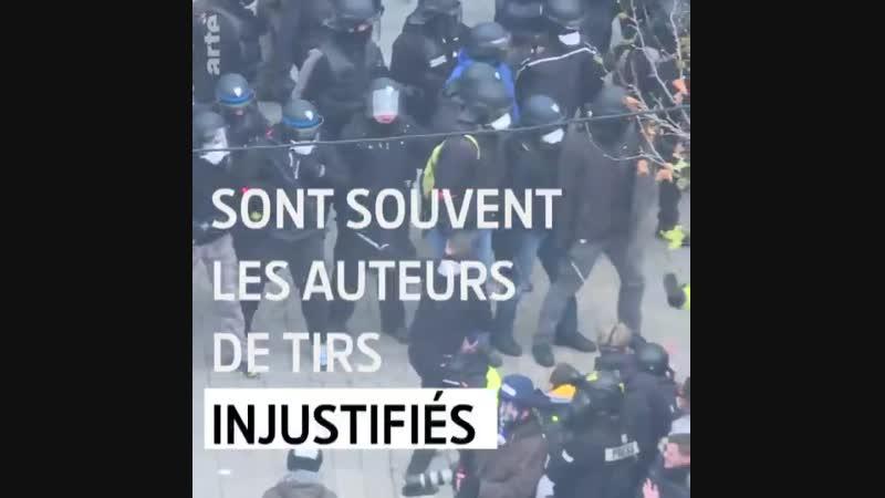 CHAQUE SAMEDI DE MANIFESTATION APPORTE SON LOT DE BLESSÉS. LE JOURNALISTE @DAVDUF A ENQUÊTÉ SUR LES VIOLENCESPOLICIÈRES