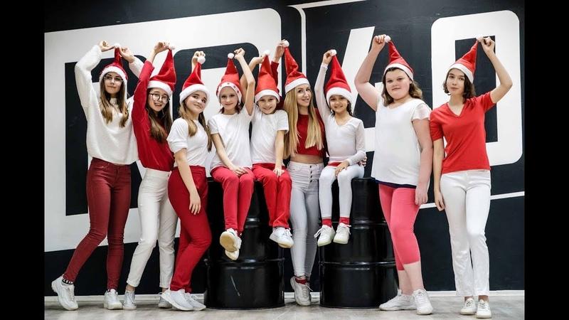 Jingle Bells Remix - Candy Snow. Shuffle by Anna Volkova (Танцы в Астрахани)