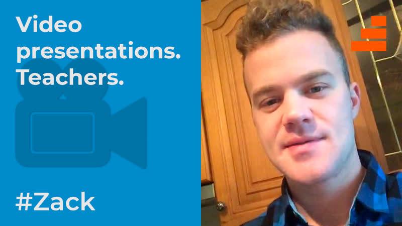 Учитель английского языка в Китае. Intro video. Zack (native speaker)