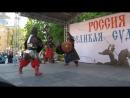 Русские богатыри на сцене