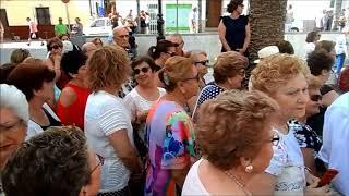 Procesion SAN JUAN BAUTISTA 2018, Marcha AVE MARIA, CCTT Los Moraos ALHAURIN dela TORRE, 24/06