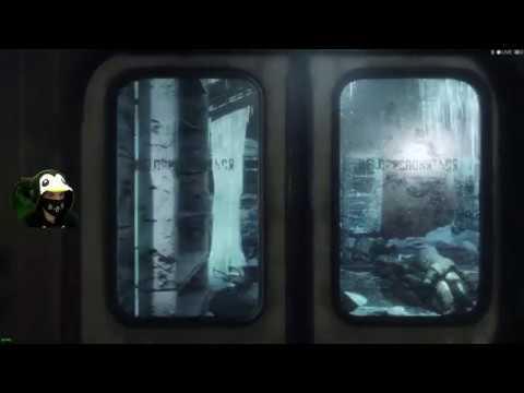 9Sinister9 MetroExodus Вагон метро Артём Часть 1 прохождения let's play