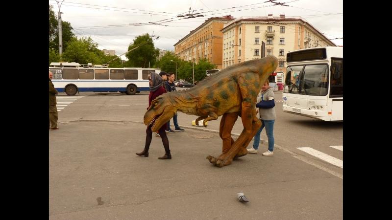 День молодежи 2018 Динозавр пузыри и Европа Плюс Мурманск 24 06 2018
