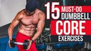 STRONG SIX PACK | 15 Must-Do Dumbbell Core Exercises for ROCK Hard Abs