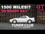 Cody Walker's 1988 Mazda RX-7 w Only 1500 Miles - Tuner Club by Nitto