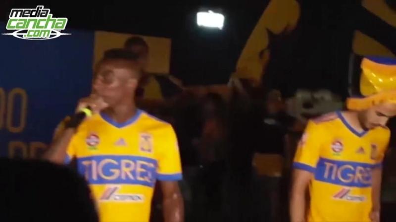Pizarro y Quiñones reciben calurosa bienvenida