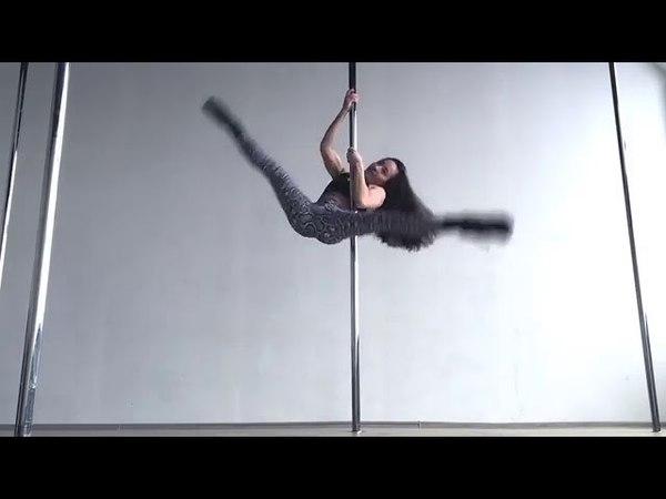 Exotic pole dance. Виктория Халецкая.