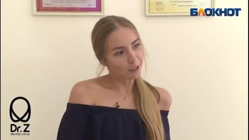 Мисс Блокнот Анастасия Щерба узнала много нового во время опроса