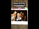 Happy Birthday Rosie and Cassandra