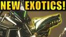 Destiny 2 NEW DLC EXOTICS New Raid Lair Info Huge Worm-God Boss! Warmind Expansion