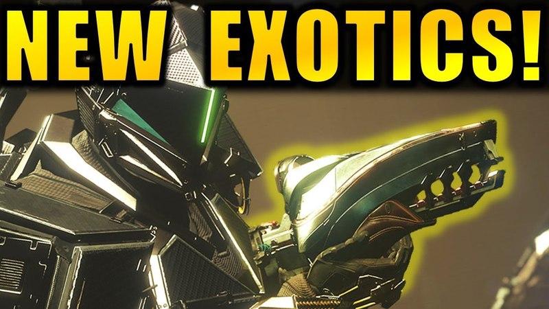 Destiny 2: NEW DLC EXOTICS | New Raid Lair Info | Huge Worm-God Boss! (Warmind Expansion)
