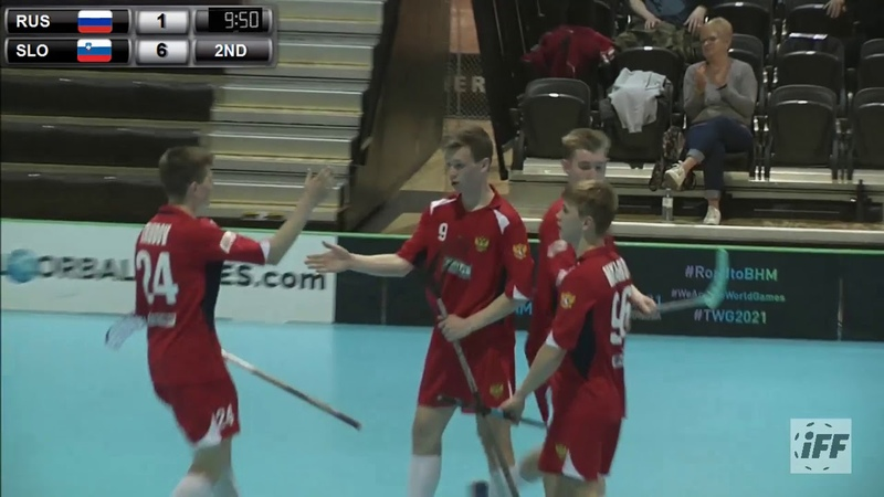 2019 Men's U19 WFC - RUS vs SLO Highlights