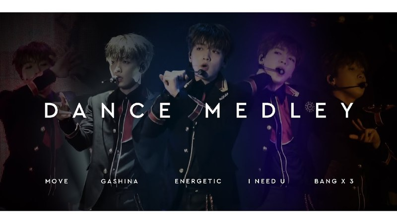 180422 Happily Ever After Dance Medley 정세운 직캠 (무브, 가시나, 에너제틱, 아니쥬, 뱅뱅뱅)