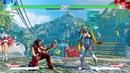 R Mika All 10 Speeches Mic Performances Street Fighter V Retail PS4 rainbow mika