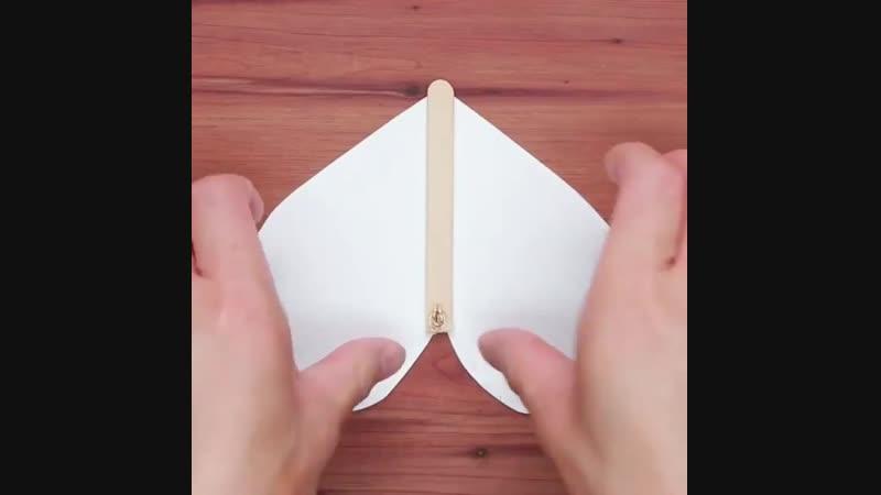 Удивите своих друзей этой замечательной летающей бабочкой