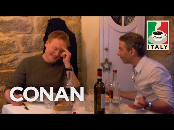 Conan Visits Jordan's Favorite Restaurant - CONAN on TBS