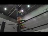 Antonio Honda vs. Facade vs. Naomi Yoshimura (DDT - Road to Ryogoku 2018 ~ Dramatic Dream Tomonoura)