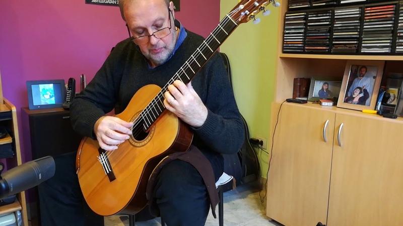 Heitor Villa-Lobos Prelude Nº 3 for Guitar. Enrique Bocaccio Guitarra