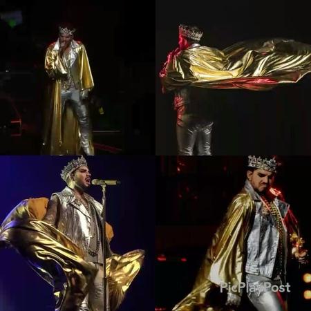Silke Glambert on Instagram 👑❤ OUR KING ❤👑 @adamlambert @brianmayforreal @officialqueenmusic adamlambert qal 📷 by @robgolton 👌 @alalwayz 🎥 by @