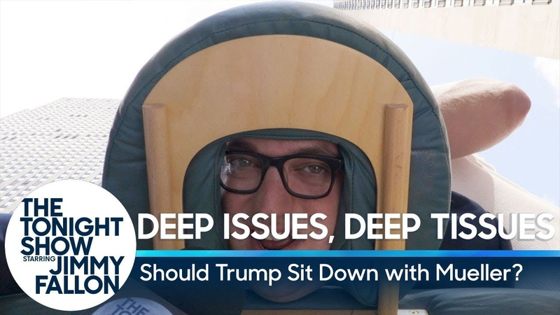 Deep Issues, Deep Tissues: Should Trump Sit Down with Mueller?