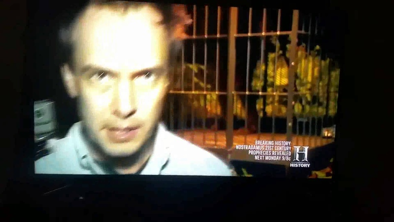 History Channel divulga imagens de pé grande real 08/12/2015.
