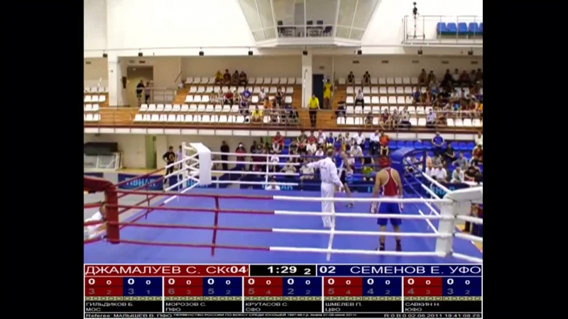Championship of russia in boxing 2011 c.Anapa 01-08.06.2011