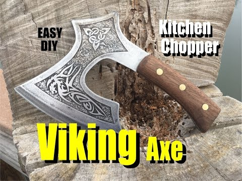 How to make a Viking or Celtic Broad Axe Kitchen Chopper