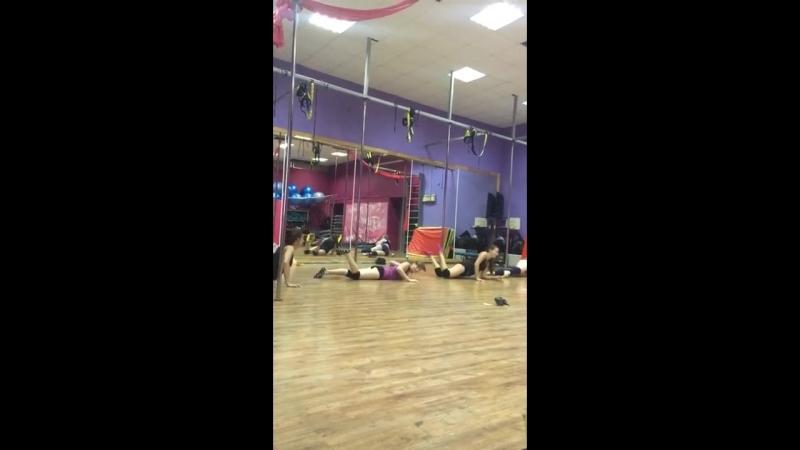 Pole dance Diva klin рабочие моменты