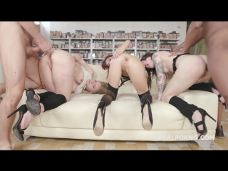Outnumbered both ways #2 with lisey sweet, monika wild, dominica phoenix domination balls deep anal multiple dap gio582 fhd