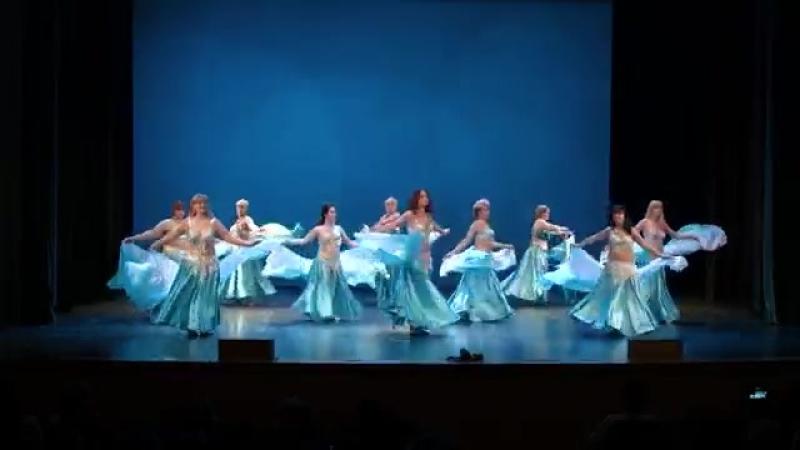 Rajda Studio Veil Dance to Mostafa Amar's Youm me bad Youm 24281