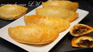 Испанские эмпанадас (пирожки) с мясом / MASA DE EMPANADILLAS O EMPANADAS PARA HORNO FÁCIL Y DELICIOSA