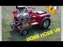 Superbike Engine Powered Mini Tractors Part 2