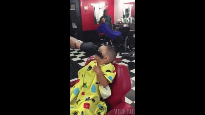 Очень злой парикмахер
