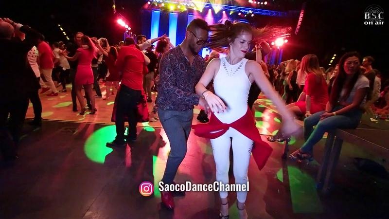 Abu Pachanga and Jazzmin Rmy Salsa Dancing at Berlin Salsacongress 2018, Sunday 07.10.2018