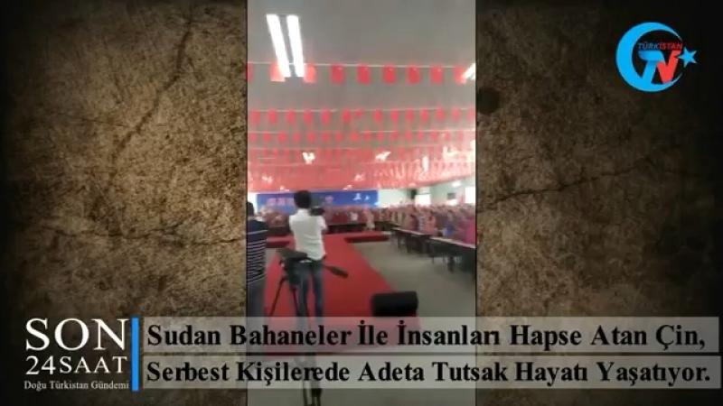 Doğu türkistan da uygurlara Çin zülmü devam ediyor