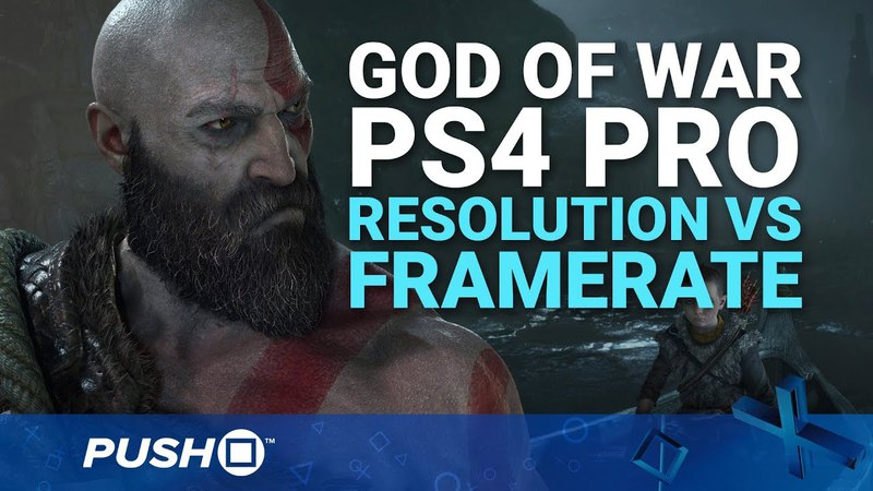 God of War PS4 Pro Modes Comparison: Resolution vs Performance | PlayStation 4