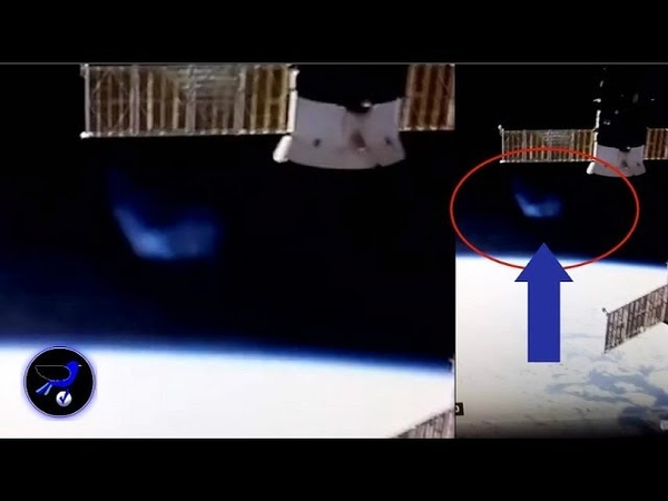 UFO? NASA Live shuts down right after this object appears next to the ISS! Nov 5,2018