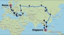 Singapore to Denmark overland solo 26 000km 18 countries 3 months All roads lead to Noma