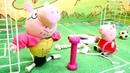 Свинка Пеппа Мультфильмы для детей Папа качает мышцы