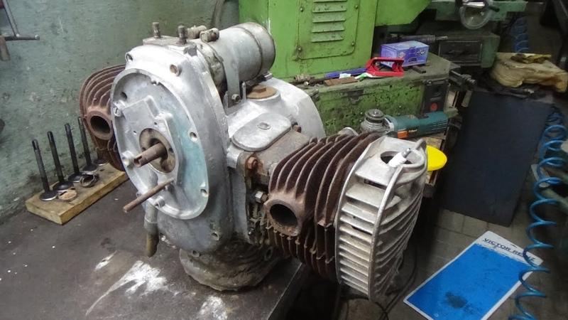 Разборка двигателя мотоцикла К -750 М (М 72)